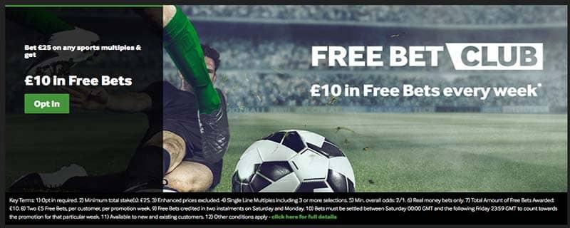 Free Bet Club