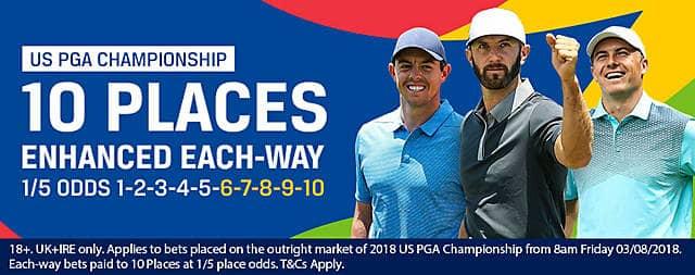Coral 10 place at US PGA
